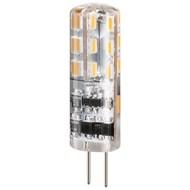 LED Kompaktlampe, 1,2 W<br>Sockel G4, ersetzt 12 W, kalt-weiß, nicht dimmbar