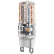 LED Kompaktlampe, 2,5 W<br>Sockel G9, ersetzt 22 W, kalt-weiß, nicht dimmbar