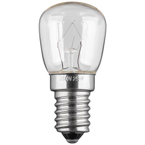 Backofenlampe, 25 W<br>Sockel E14, 110 lm