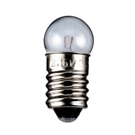 Taschenlampen-Kugel, 2,4 W<br>Sockel E10, 12 V (DC), 200 mA