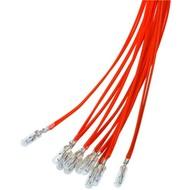 T1¼ Subminiatur-Glühlampe, 0,72 W<br>Rot, 0,3 m Kabel, 12 V (DC), 60 mA