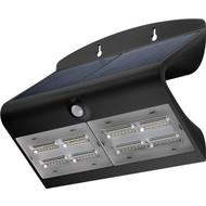 LED Solar-Wandleuchte mit Bewegungsmelder, 6,8 W<br>Lichtlösung für Hauseingänge, Carports & Treppen