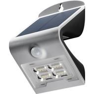LED Solar-Wandleuchte mit Bewegungsmelder, 2 W<br>Lichtlösung für Hauseingänge, Carports & Treppen