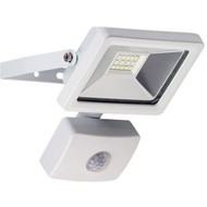 LED Außen-Flutlichtstrahler mit Bewegungsmelder, 10 W<br>Lichtlösung für Hauseingänge, Zugangswege, Garten & Co.