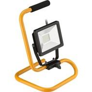 LED Außen-Flutlichtstrahler mit Standfuß, 20 W<br>Arbeitsleuchte mit großflächiger Ausleuchtung