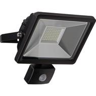 LED Außen-Flutlichtstrahler mit Bewegungsmelder, 30 W<br>Lichtlösung für Hauseingänge, Zugangswege, Garten & Co.