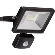 LED Außen-Flutlichtstrahler mit Bewegungsmelder, 20 W<br>Lichtlösung für Hauseingänge, Zugangswege, Garten & Co.