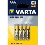 Varta R03/AAA (Micro) (2003)<br>Zinkchlorid Batterie, 1,5 V