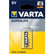 Varta 6F22/9V Block (2022)<br>Zinkchlorid Batterie, 9 V