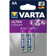 Varta FR6/AA (Mignon) (6106)<br>Lithium Batterie, 1,5 V