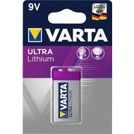 Varta 6F22/9V Block (6122)<br>Lithium Batterie, 9 V