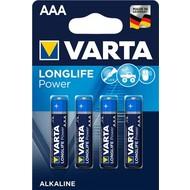 Varta LR03/AAA (Micro) (4903)<br>Alkali-Mangan Batterie (Alkaline), 1,5 V