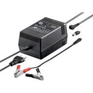 Blei-Akku Ladegerät<br>geeignet für 6 V oder 12 V Blei-Gel-, Vlies- oder Säure-Akkus