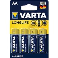 Varta LR6/AA (Mignon) (4106)<br>Alkali-Mangan Batterie (Alkaline), 1,5 V