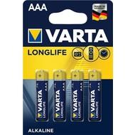 Varta LR03/AAA (Micro) (4103)<br>Alkali-Mangan Batterie (Alkaline), 1,5 V