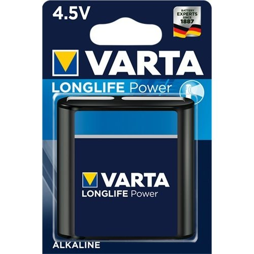 Varta 3LR12/Flat (4912)<br>Alkali-Mangan Batterie (Alkaline), 4,5 V