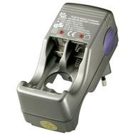 Kompakt-Steckerladegerät<br>geeignet für bis zux 4 Micro (AAA) oder Mignon (AA) Batterien