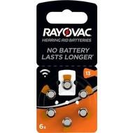 Rayovac PR48/13A<br>Zink-Luft Hörgeräte-Knopfzelle, 1,4 V