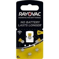 Rayovac PR70/10A<br>Zink-Luft Hörgeräte-Knopfzelle, 1,4 V