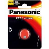 Panasonic SR66 (SR626 EL)<br>Silberoxid-Zink-Knopfzelle, 1,55 V