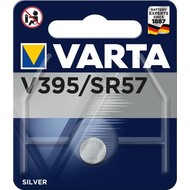 Varta SR57 (V395)<br>Silberoxid-Zink-Knopfzelle, 1,55 V Uhrenbatterie