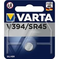 Varta SR45 (V394)<br>Silberoxid-Zink-Knopfzelle, 1,55 V Uhrenbatterie