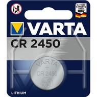 Varta CR2450 (6450)<br>Lithium-Knopfzelle, 3 V