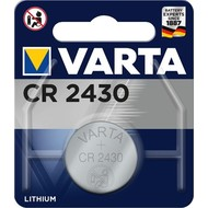 Varta CR2430 (6430)<br>Lithium-Knopfzelle, 3 V