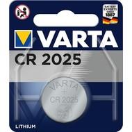 Varta CR2025 (6025)<br>Lithium-Knopfzelle, 3 V