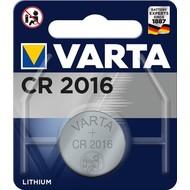 Varta CR2016 (6016)<br>Lithium-Knopfzelle, 3 V