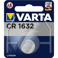 Varta CR1632 (6632)<br>Lithium-Knopfzelle, 3 V
