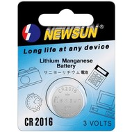 New Sun CR2016<br>Lithium-Knopfzelle, 3 V