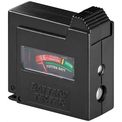 Batterietester<br>für Standardzellen und alle gängigen Knopfzellen