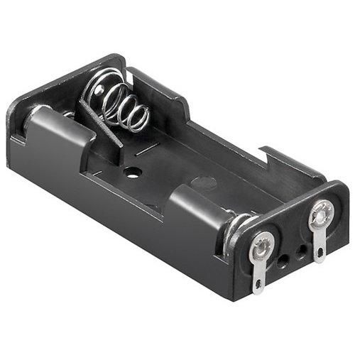 2x AAA (Micro) Batteriehalter<br>Lötfahne (U)
