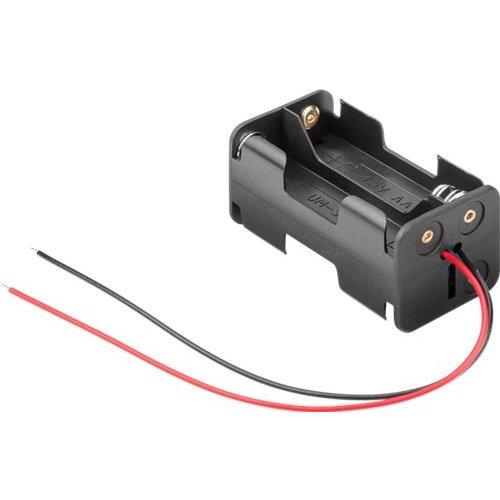 4x AA (Mignon) Batteriehalter<br>lose Kabelenden