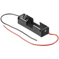 1x AA (Mignon) Batteriehalter<br>lose Kabelenden