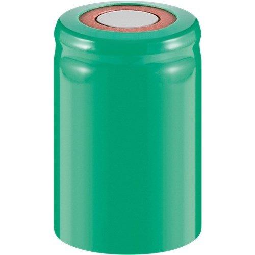 4/5 Sub-C, 2000 mAh, Flat-Top<br>Nickel-Metallhydrid Akku (NiMH), 1,2 V, PVC, Flat-Top
