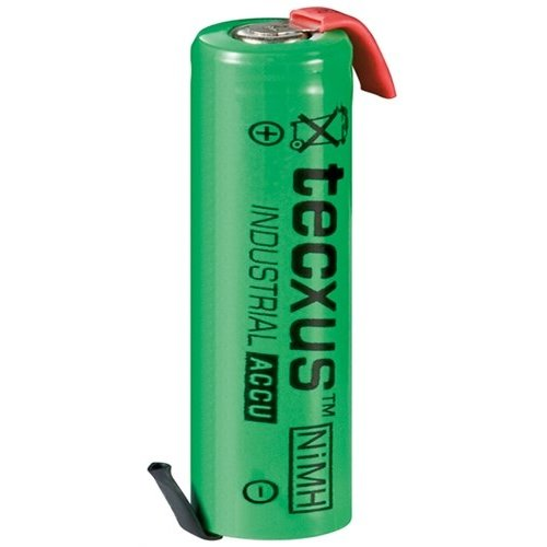 Tecxus 1x AA (Mignon) - 2100 mAh<br>Lötfahne (Z), LSD-NiMH Akku (Ready-to-Use), 1,2 V