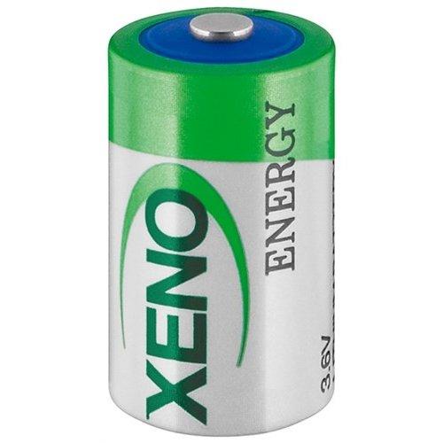 Xeno 1/2 AA (Mignon)/ER14252 (XL-050F) - Standard-Top<br>3,6 V, 1200 mAh, Lithium-Thionylchlorid Batterie