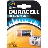 Duracell CR123A (DL123)<br>Lithium Batterie, 3 V