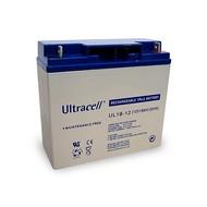 Ultracell Bleiakku 12 V, 18 Ah ()<br>Gewinde (M5) Bleiakku, VdS