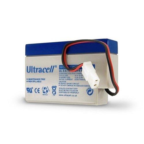 Ultracell Bleiakku 12 V, 0,8 Ah (UL0.8-12)<br>AMP-Stecker Bleiakku