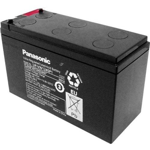 Panasonic Bleiakku 12 V (UP-VW1245P1)<br>Faston (6,35 mm)