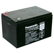 Panasonic Bleiakku 12 V, 12 Ah (LC-RA1212PG)<br>Faston (4,8 mm) , VdS