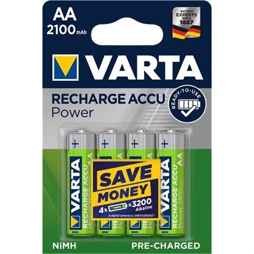Varta AA (Mignon)/HR6 (56706) - 2100 mAh<br>LSD-NiMH Akku (Ready-to-Use), 1,2 V