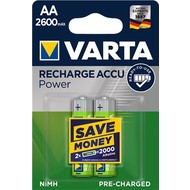 Varta AA (Mignon)/HR6 (5716) - 2600 mAh<br>LSD-NiMH Akku (Ready-to-Use), 1,2 V