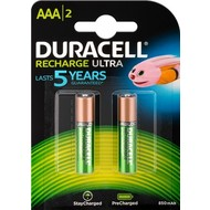 Duracell AAA (Micro)/HR03 - 800 mAh<br>Nickel-Metallhydrid Akku (NiMH), 1,2 V