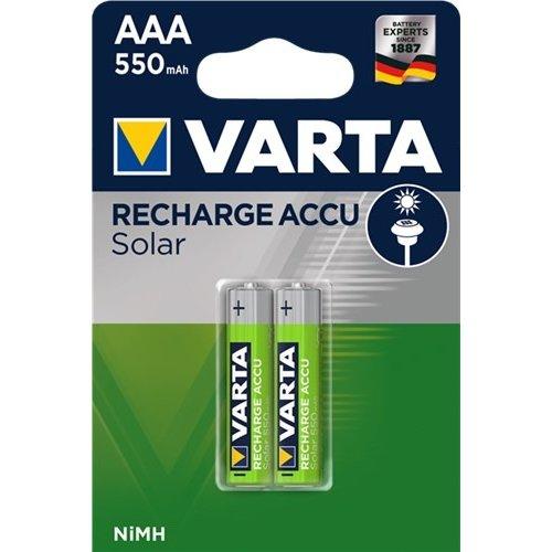 Varta AAA (Micro)/HR03 (56733) - 550 mAh<br>Nickel-Metallhydrid Akku (NiMH), 1,2 V