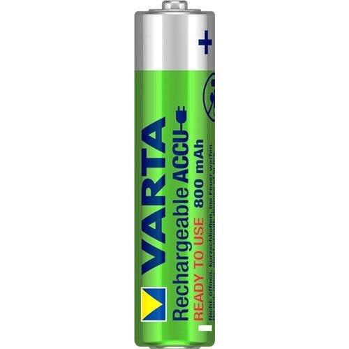 Varta AAA (Micro)/HR03 (56783) - 800 mAh<br>Nickel-Metallhydrid Akku (NiMH), 1,2 V