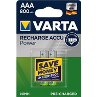 Varta AAA (Micro)/HR03 (56703) - 800 mAh<br>LSD-NiMH Akku (Ready-to-Use), 1,2 V
